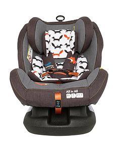 Cosatto Cosatto All in All Group 0+123 Isofix Car Seat - Mister Fox