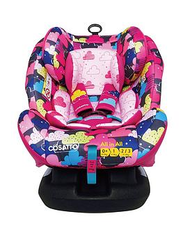 Cosatto Cosatto All In All Group 0+123 Isofix Car Seat - Fairy Clouds