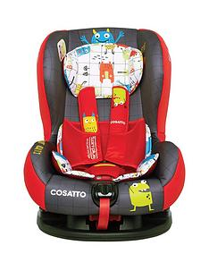 Cosatto Cosatto Moova 2 Group 1 Car Seat - Monster Mob