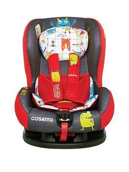 Cosatto Moova 2 Group 1 Car Seat - Monster Mob