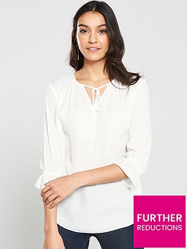 v-by-very-poet-blouse-ivory