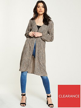 v-by-very-button-longline-blouse-animal-print