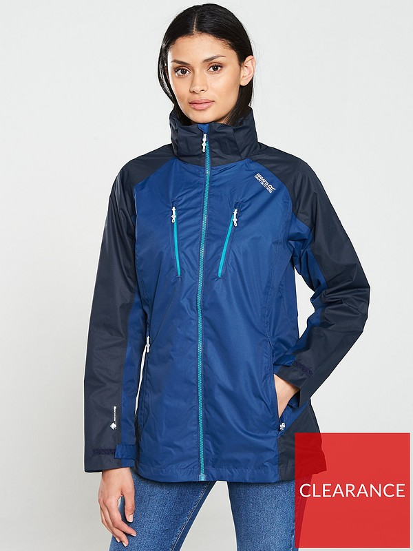 Regatta Mens Calderdale Iii /& Breathable Mesh Lined Outdoor Jackets Waterproof Shell
