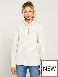 regatta-solenne-14-zip-fleece-top-vanillanbsp