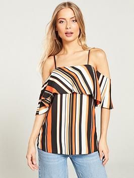 v-by-very-cold-shoulder-top-stripe