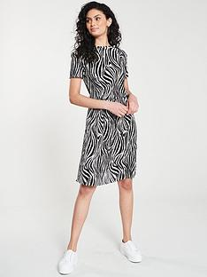 v-by-very-animal-print-plisse-midi-dress-ndash-monochrome
