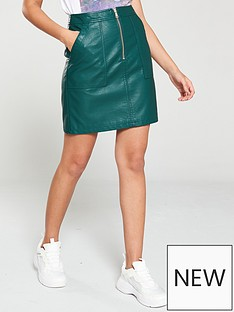 8806f0076 Leather Skirts | Leather & PU Skirts for Women | Very.co.uk