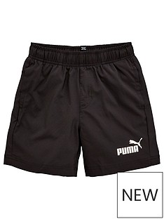 puma-essentials-woven-shorts-black