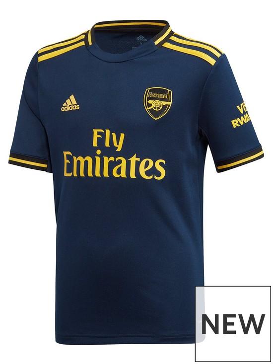 promo code e3fad 600c3 Arsenal Junior 2019/20 3rd Football Shirt - Navy