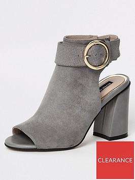 river-island-buckle-shoe-boot-grey