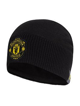 adidas-manchester-united-beanie-hat-black