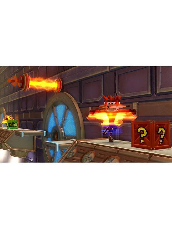 FIFA 19 PS4 500GB Bundle with Spyro Trilogy - Reignited and Crash Bandicoot  N'Sane Trilogy plus Optional Extras