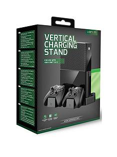 venom-xbox-one-black-vertical-charging-stand-with-rechargeable-battery-twin-pack