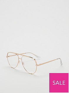 quay-australia-high-key-blue-light-mini-aviator-glasses-gold