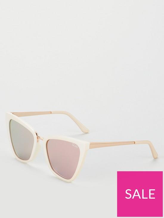 5f1e6c64 QUAY AUSTRALIA #QUAYXJLO Reina Cateye Sunglasses | very.co.uk