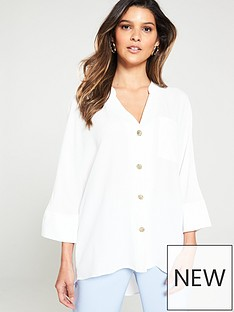 river-island-river-island-button-through-blouse-white