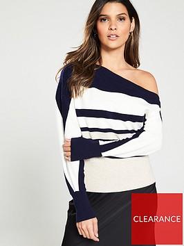 river-island-river-island-stripe-asymetric-knitted-jumper--stripe