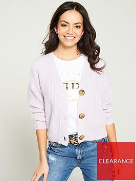 river-island-river-island-diamante-button-knitted-cardigan--purple