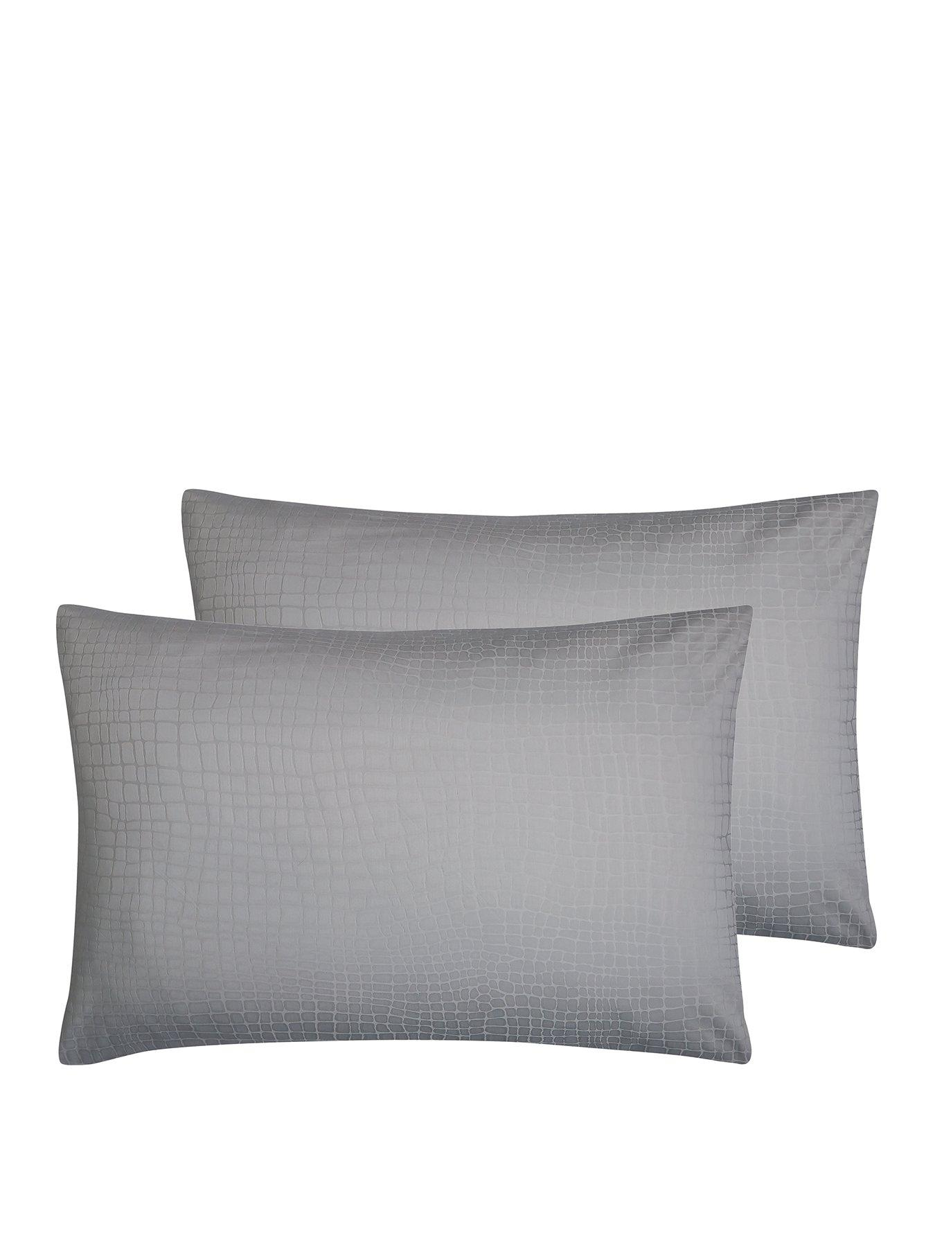 Hotel Collection Snakeskin 300 Thread Count Standard Pillowcases (Pair)