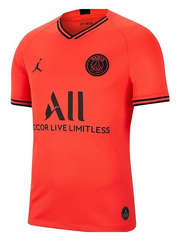 incredible prices casual shoes best online Youth PSG Jordan 19/20 Away Short Sleeved Stadium Jersey - Pink