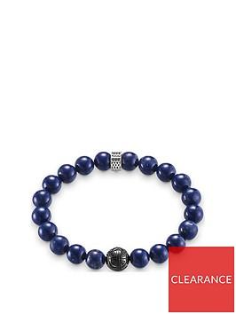 thomas-sabo-thomas-sabo-sterling-silver-blue-obsidian-semi-precious-stretch-mens-bracelet
