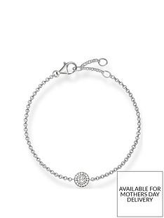 thomas-sabo-thomas-sabo-sterling-silver-cubic-zirconia-halo-circle-bracelet