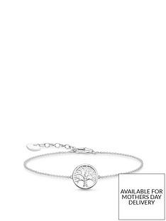 thomas-sabo-thomas-sabo-sterling-silver-cubic-zirconia-tree-of-life-bracelet