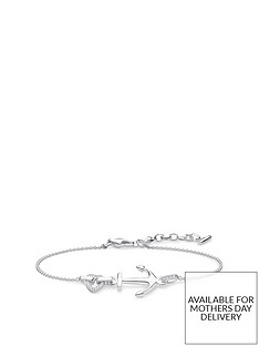 thomas-sabo-thomas-sabo-sterling-silver-cubic-zirconia-love-anchor-bracelet