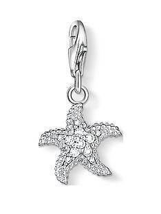 thomas-sabo-thomas-sabo-charm-club-sterling-silver-starfish-charm
