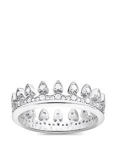 thomas-sabo-thomas-sabo-sterling-silver-cubic-zirconia-crown-ring