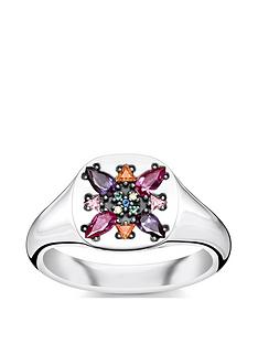 thomas-sabo-thomas-sabo-sterling-silver-multicoloured-stone-signet-ring
