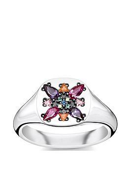 thomas-sabo-thomas-sabo-sterling-silver-multicoloured-stone-signet-ring