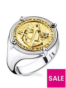 thomas-sabo-thomas-sabo-18k-gold-plated-sterling-silver-faith-love-hope-round-signet-ring-unisex