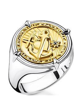 thomas-sabo-thomas-sabo-18k-gold-plated-sterling-silver-faith-love-hope-round-signet-ring-unisex