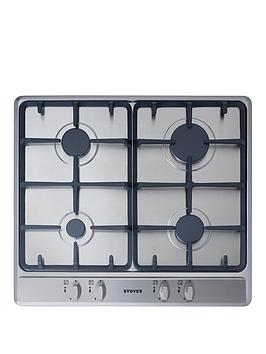stoves-sgh600c-60cm-built-in-gas-hob-stainless-steel