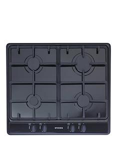 stoves-sgh600c-60cm-built-in-gas-hob-black