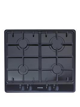 stoves-sgh600c-60cm-built-in-gas-hob-black