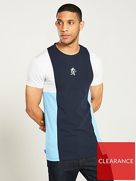 gym-king-panelled-t-shirt-navybluegrey