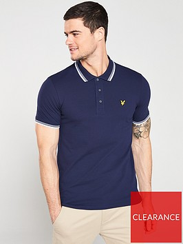 lyle-scott-tipped-polo-shirt-navy