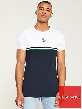 gym-king-gilchrist-t-shirt-navywhite
