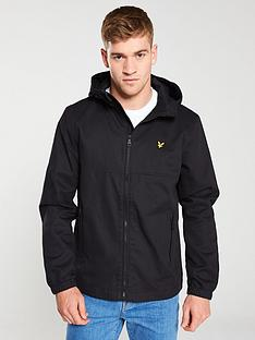 lyle-scott-cotton-twill-jacket-black