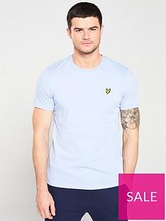 lyle-scott-crew-neck-t-shirt-lavender