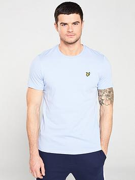 lyle-scott-crew-neck-t-shirt-lavender