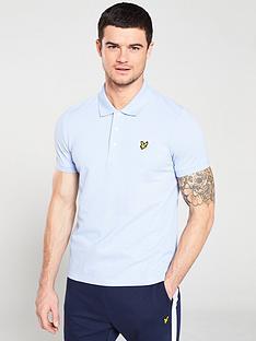 lyle-scott-plain-polo-shirt-lilac