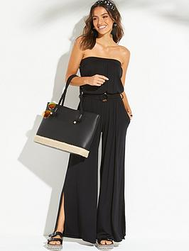 v-by-very-wide-leg-beach-jersey-jumpsuit-black