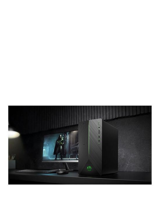 0d62e1420 HP Pavilion 690-0025na AMD Ryzen 5 8GB RAM 1TB Hard Drive & 128GB SSD  NVIDIA GTX 1050 2GB Graphics Desktop Black