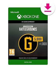 xbox-one-playerunknowns-battlegrounds-6000-g-coin-xbox-one