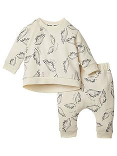 river-island-baby-baby-wing-jogger-outfit-cream