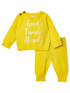 river-island-baby-baby-good-times-ahead-jumper-outfit-yellow