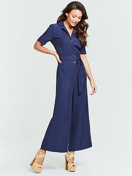 michelle-keegan-casual-linen-culotte-jumpsuit